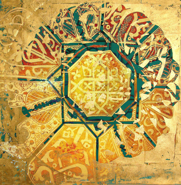 Desert Frames Art(37) Rolled Canvas 30x30cm