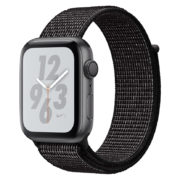 Apple Watch Nike+ Series 4 GPS 40mm Space Grey Aluminium Case With Black Nike Sport Loop