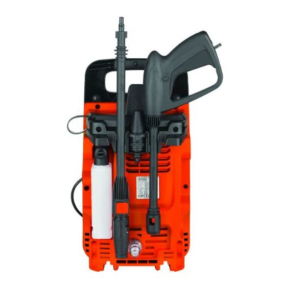 Black & Decker Pressure Washer 1300W BXPW1300E-B5
