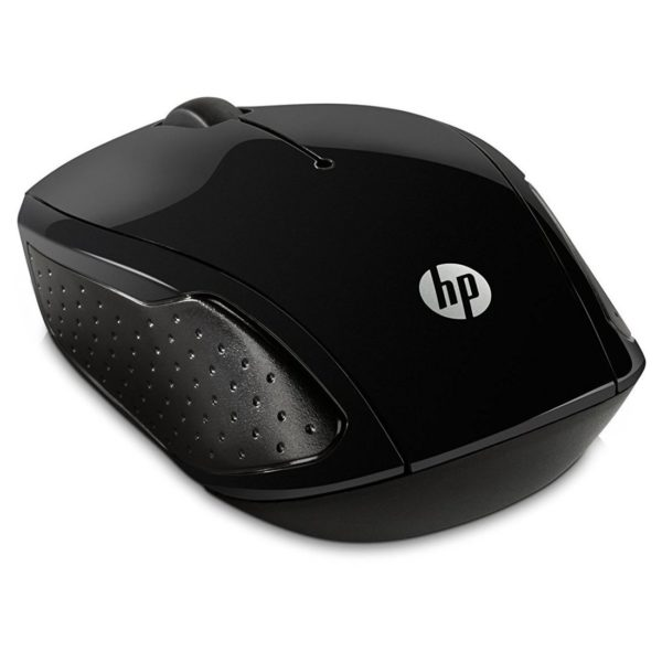 HP X6W31AA 200 Wireless Mouse + K0B38AA Topload Silver Bag 15.6inch + Doha In ear Headset