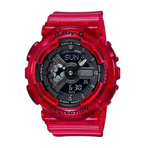 Casio BA-110CR-4ADR Baby G Watch