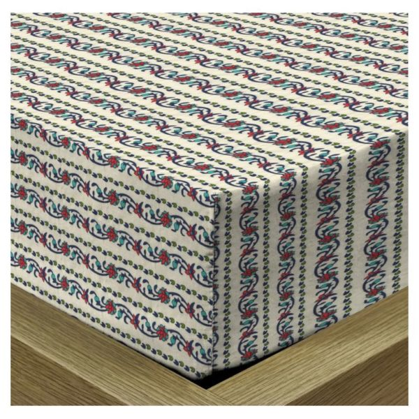 Dream Home 180x200+26cm Fitted Sheet and 50x75cm Pillow Cover
