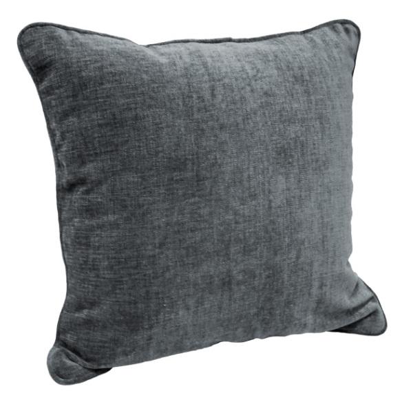 Dream Home Cushion Reversible Jacquard Grey 45X45cm