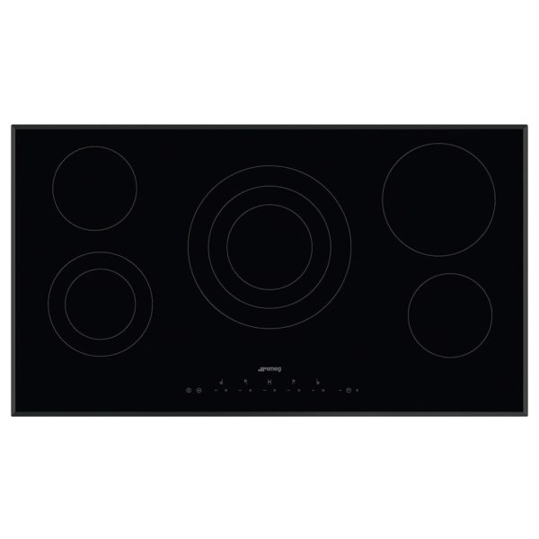 SMEG 5 Ceramic Built In Hobs SE395ETB