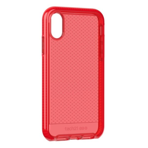 Tech21 Evo Check Case Rouge For iPhone XR