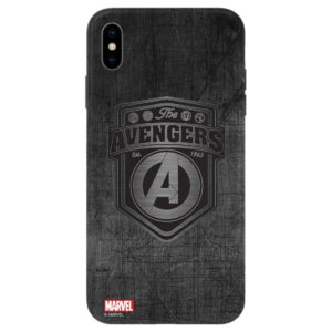 Free Thrumm Marvel Phone Cover TPU with Tempered Glass Apple iPhone Xs Max Telecom Promo