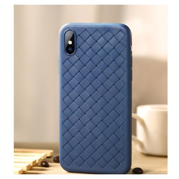 Benks Woven TPU Protective Case For iPhone XR - Blue