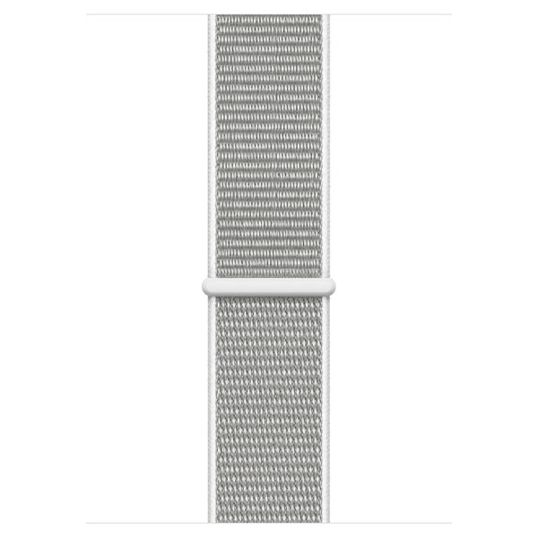 Apple Apple Watch Series 4 GPS 44mm Silver Aluminium Case With Seashell Sport Loop