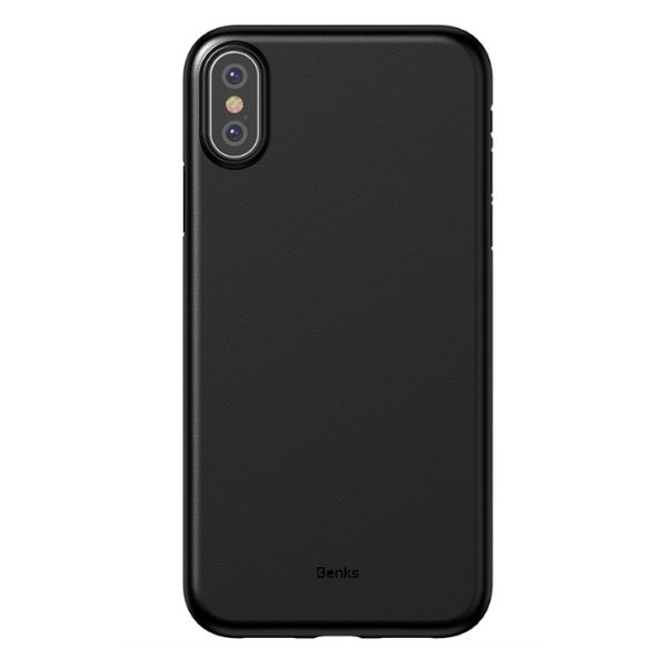 Benks Lollipop Protective Case For iPhone XR - Solid Black