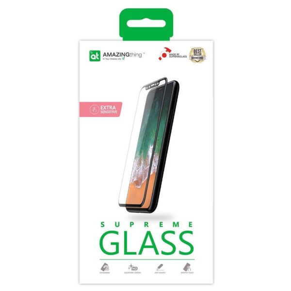 Amazing Thing Supreme Glass Screen Protector For iPhone Xs Max - Black