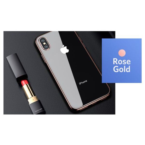 Benks Electroplating TPU Case For iPhone XR - Rose Gold
