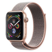 Apple Watch Series 4 GPS 44mm Gold Aluminium Case With Pink Sand Sport Loop