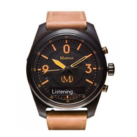 Martian Brown Analog/Smart Men's Watch - MVR03PL031