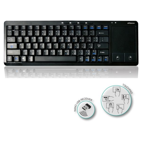Eklasse EKWLK02XM Wireless Keyboard With Touchpad