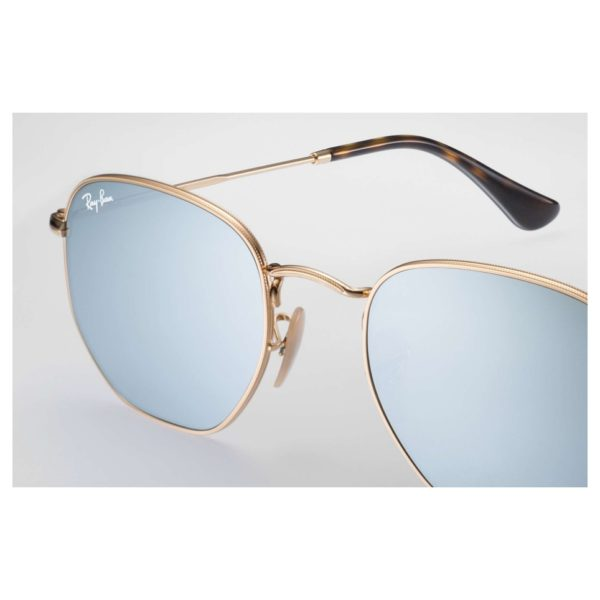 Rayban RB3548N 001/30 Unisex Sunglasses Metal