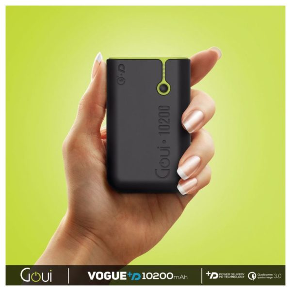 Goui 10200mAh Power Bank - Black