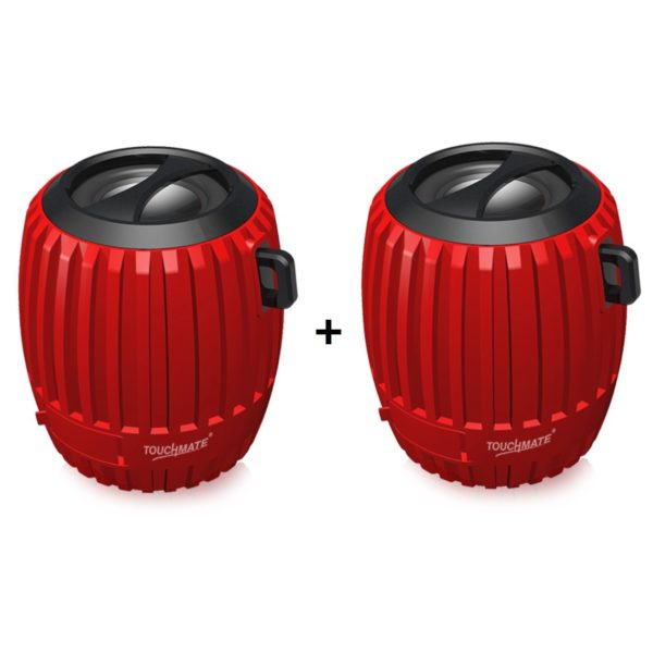 Touchmate Bluetooth Speaker x2Pcs - TMBTS200BND