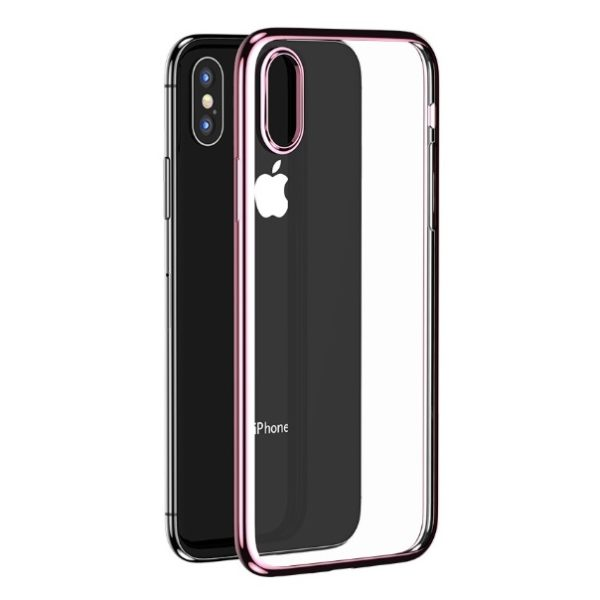 Benks Electroplating TPU Case For iPhone Xs - Rose Gold
