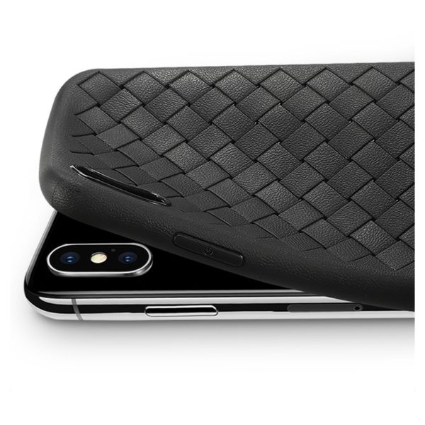 Benks Woven TPU Protective Case For iPhone Xs Max - Black