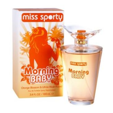 Miss Sporty Morning Baby Perfume For Female 100ml Eau de Toilette