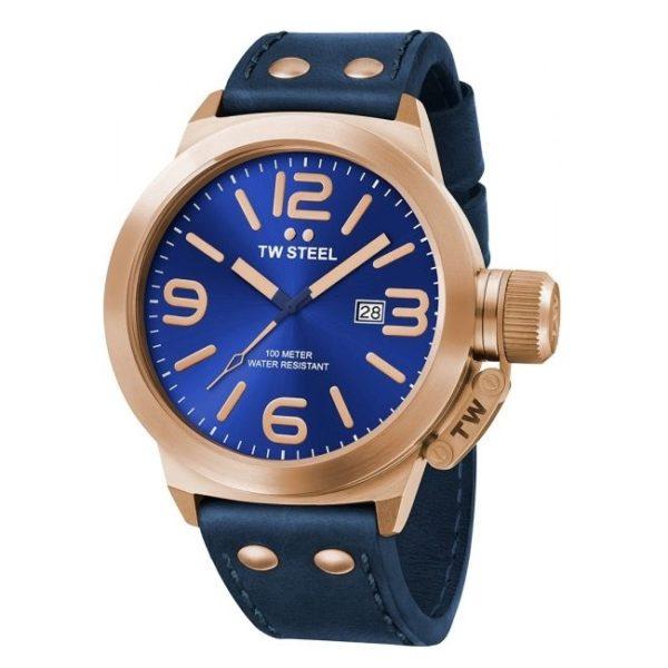 TW Steel Blue Analog Men's Watch - CS61