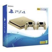 Sony PS4 Slim Gaming Console 500GB Gold + 1x Extra Controller