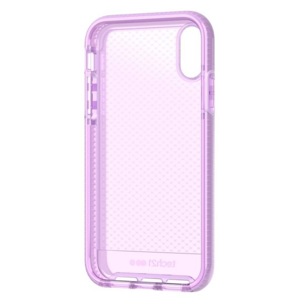 Tech21 Evo Check Case Orchid For iPhone XR