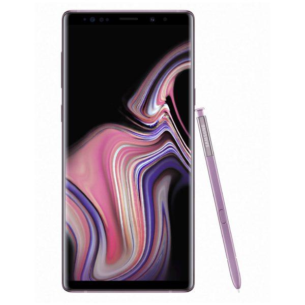 Samsung Galaxy Note9 SM-N960 512GB Lavender Purple 4G LTE Dual Sim Smartphone