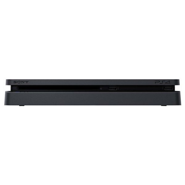 Sony PS4 Slim Gaming Console 1TB Black + Extra Controller + PES 2019(AR/EN) Game
