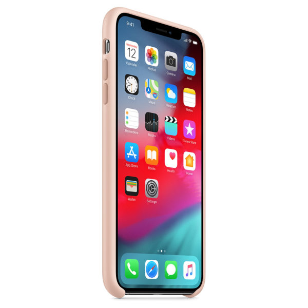 Apple Silicone Case Pink Sand For iPhone XS Max