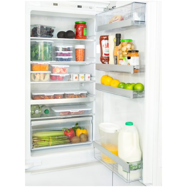 Wham Food Locker Rectangular Clear/White 2L