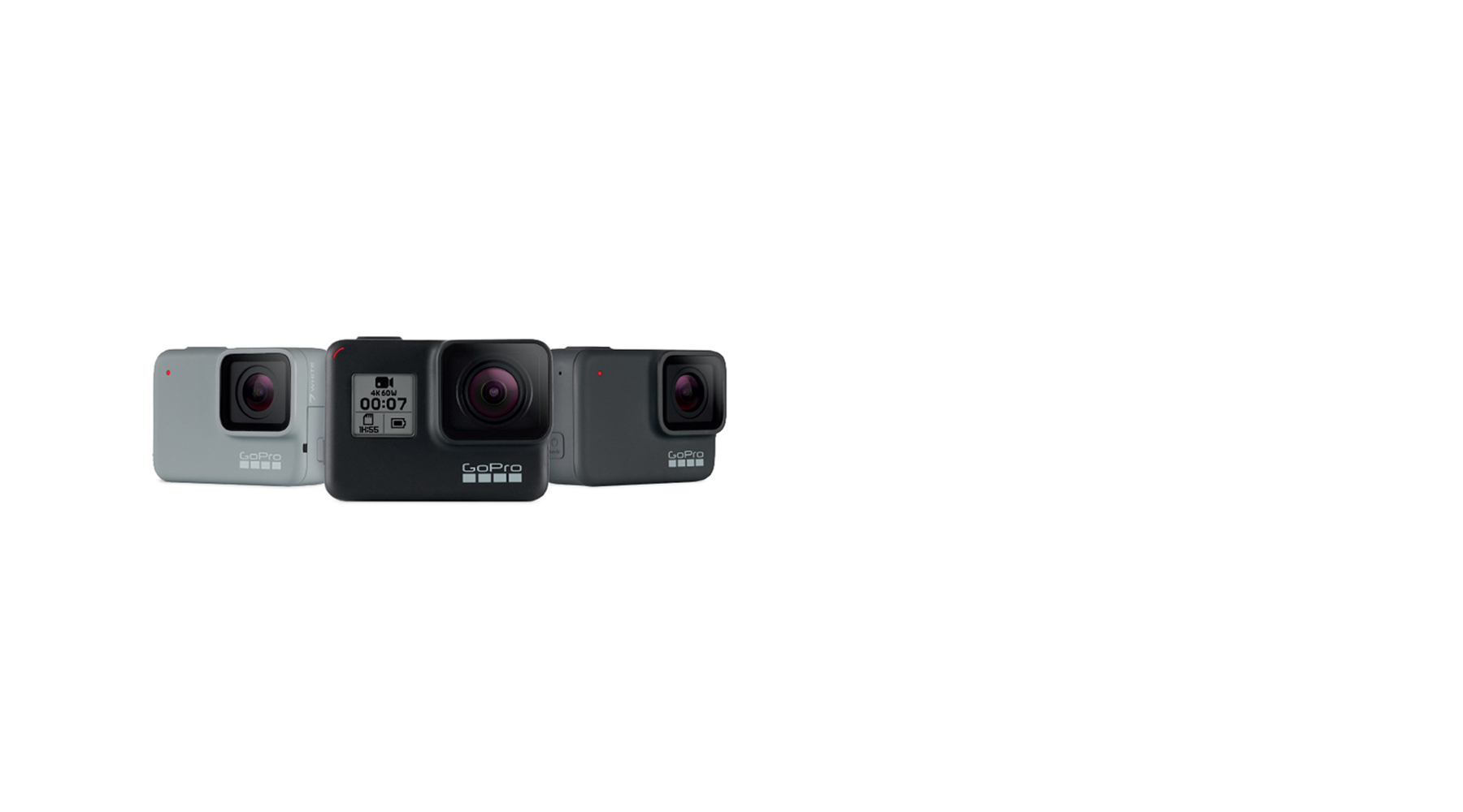 Gopro Action Camera Hero 7 Fusion Sharaf Dg Uae Hero5 Free Acc Shorty New Range Available Now