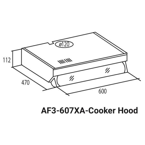 Fagor Conventional Cooker Hood AF3-607XA