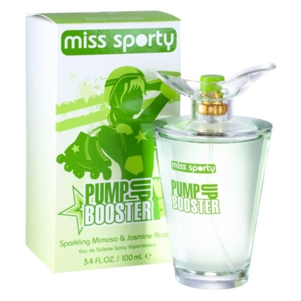 Miss Sporty Pump Booster Perfume For Women 100ml Eau de Toilette