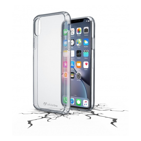 Cellular Line Back Case Clear For iPhone XR