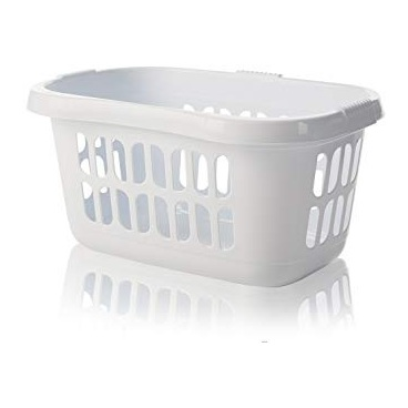 Wham 10091 Casa Hipster Laundry Basket Ice White