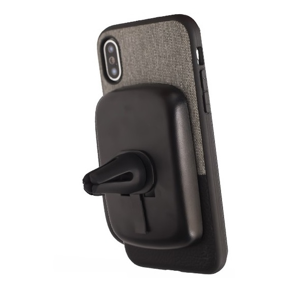 Evutec Northill Series Case Canvas/Black For iPhone X - NHX00MTD04