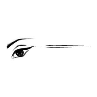 Diego Dalla Palma DF115101 Eye Liner Brush N.1