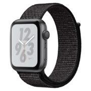 Apple Watch Nike+ Series 4 GPS 44mm Space Grey Aluminium Case With Black Nike Sport Loop