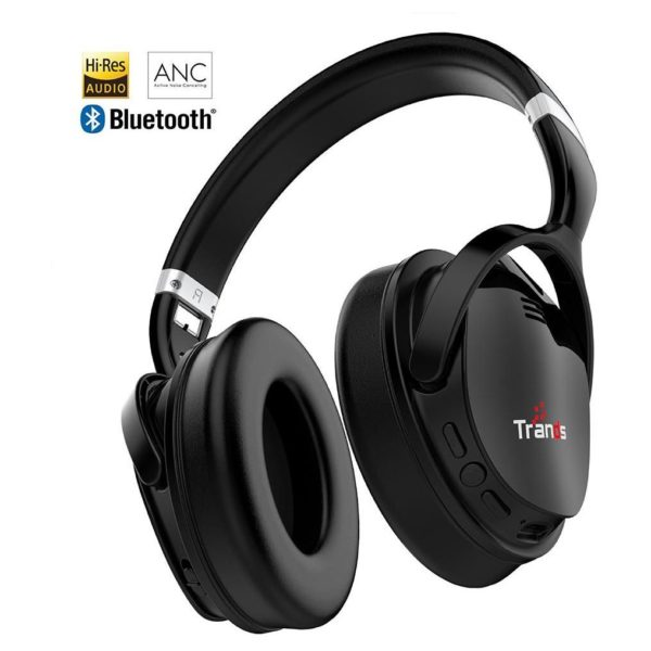 Trands TR-VT-H118 Wireless Bluetooth Active Noise Cancelling Stereo Headset