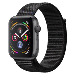 5a9a09cbdc195 Apple Apple Watch Series 4 GPS 44mm Space Grey Aluminium Case With Black  Sport Loop