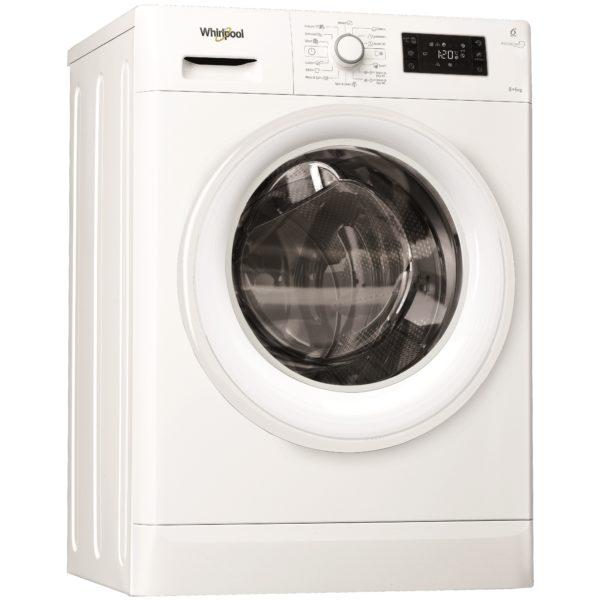 Whirlpool 8kg Washer & 6kg Dryer FWDG86148W