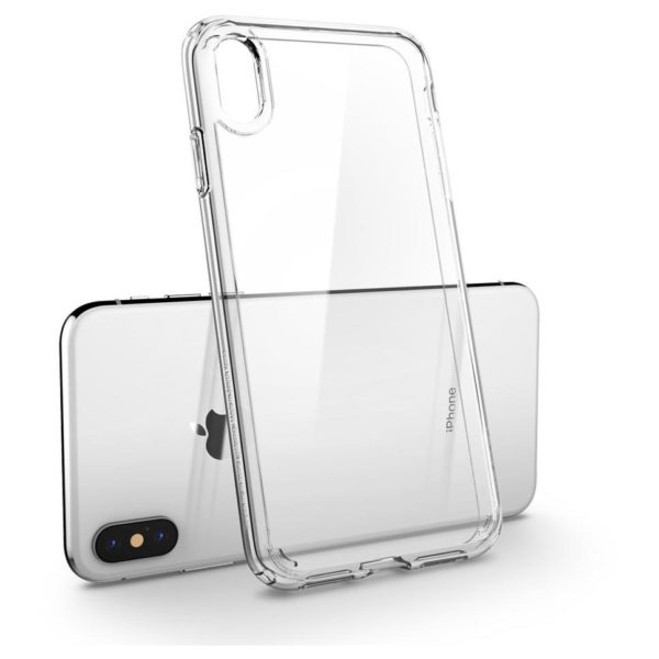 online store 963e2 a845d Spigen Ultra Hybrid Crystal Case Clear For iPhone Xs Max