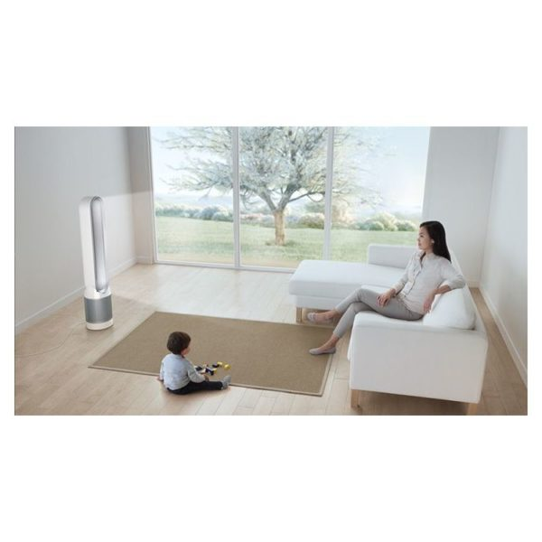 Buy Dyson Pure Cool Purifying Tower Fan White Silver Tp04