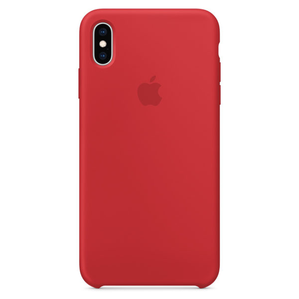 Apple Silicone Case Product Red For iPhone XS Max