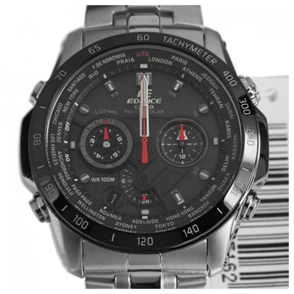 Casio EQS-1000DB-1AVDR Edifice Premium Watch