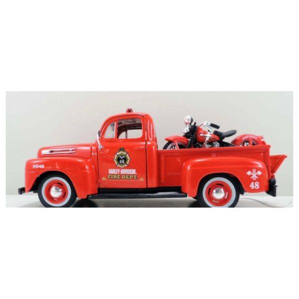 Maisto 32191 Diecast 1936 EL Knuchklehead 1948 Ford F1 Pickup1:18