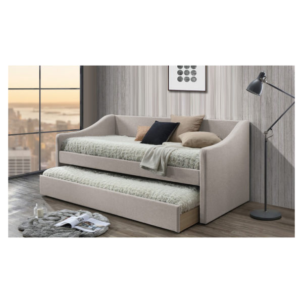 Barnstorm Upholstered Daybed in Beige Color