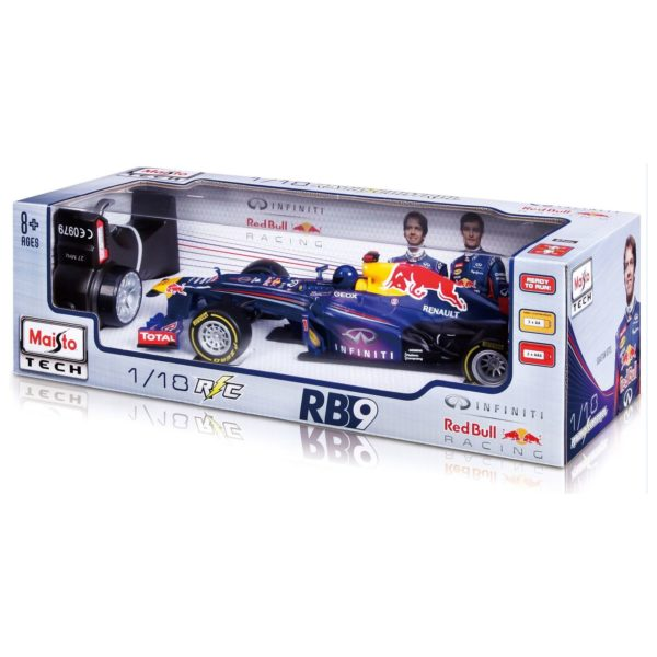 Maisto Tech 81084 RC Red Bull RB9 1:24 - Color May Vary