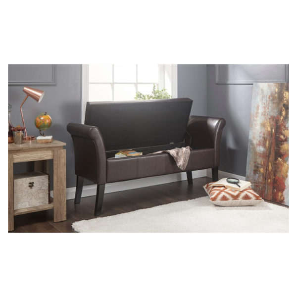 Atoz Oned Window Seat With Storage Brown